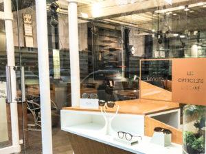 meilleur opticien lunetier à Lyon accueil et présentoir