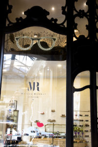 Vitrine été opticien lunetier Rubbel Bordeaux