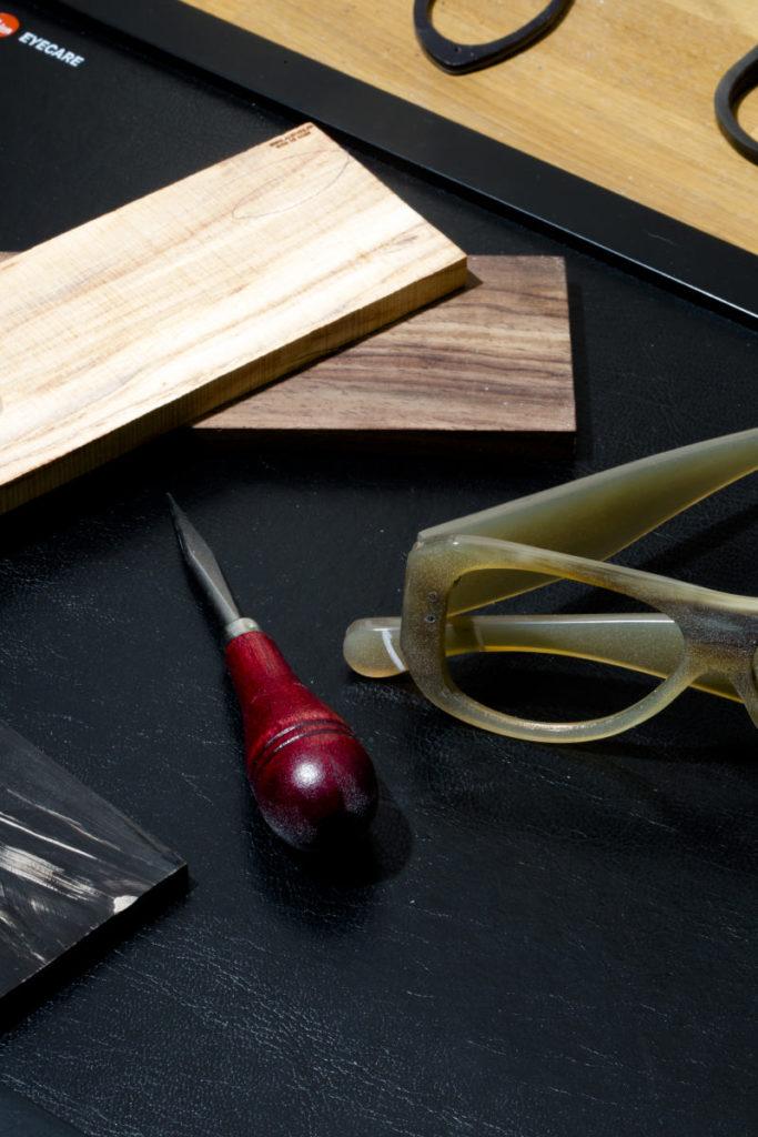 Outils de travail opticien lunetier Rubbel
