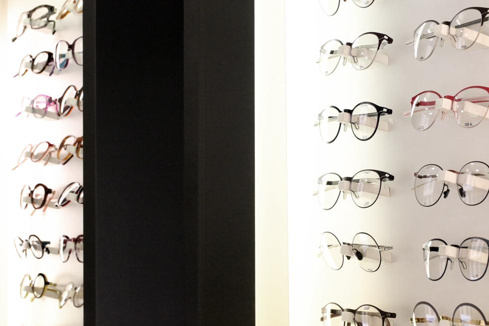 Espace à Aix en Provence lunette de marque chez Connivence Opticien