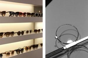 Etagères de lunette chez Blandine, opticien à Annecy