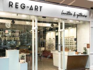 meilleur opticien lunetier à Lyon REG-ART façade
