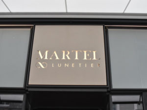 Façade du Lunetier Martel Clermont FErrand