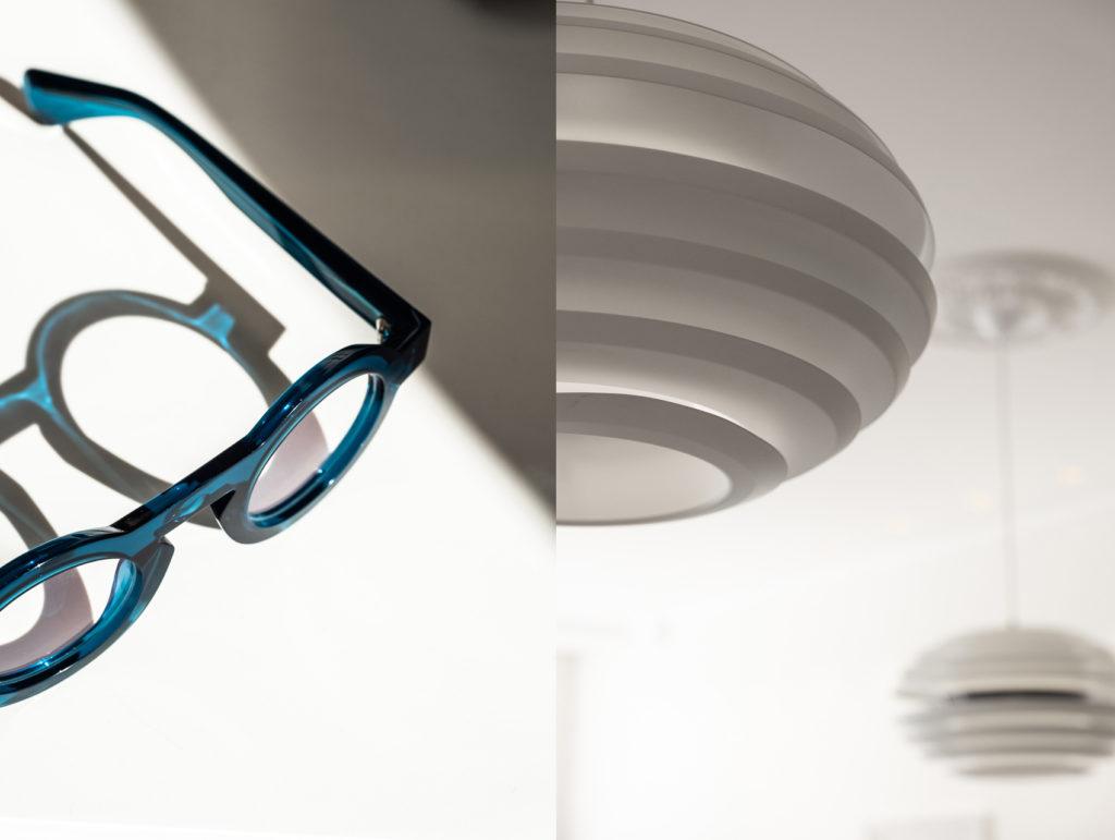 lunettes de marque, luminaire