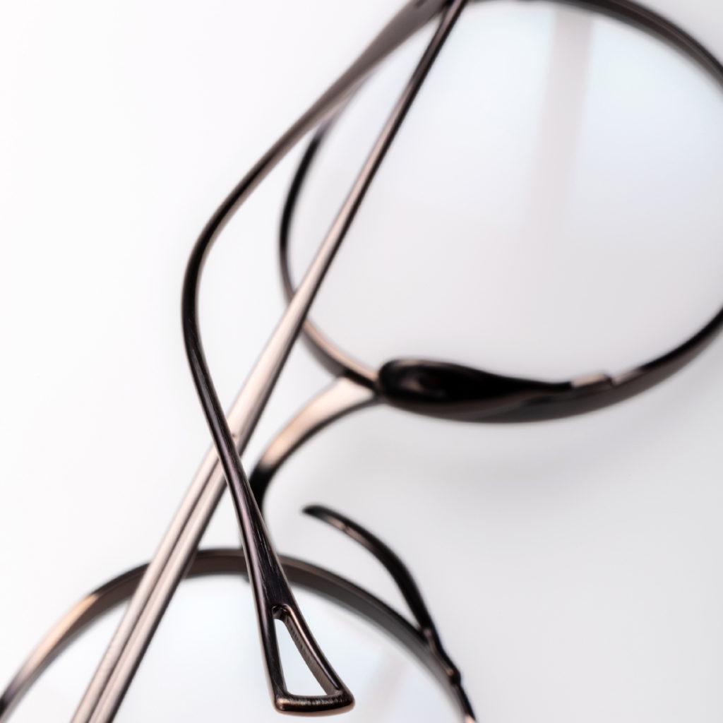 Monture de lunette argent Kame Mannen