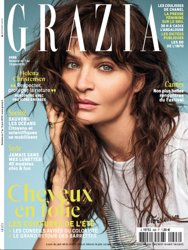 Couverture du magazine Grazia pour Eye Like