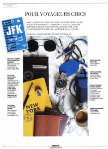 publication eye like dans l'express hors série n°24, montures ahlem or 22 carats