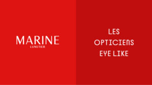 Logo Marine Lunetier des Opticiens Eye Like