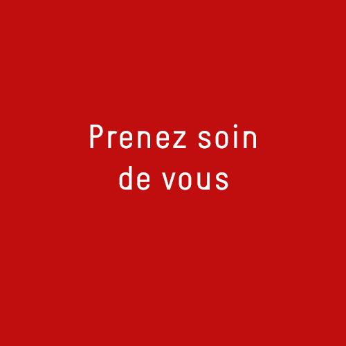 Logo carré rouge Prenez soin de vous Newsletter3 Les Opticiens Eye-Like