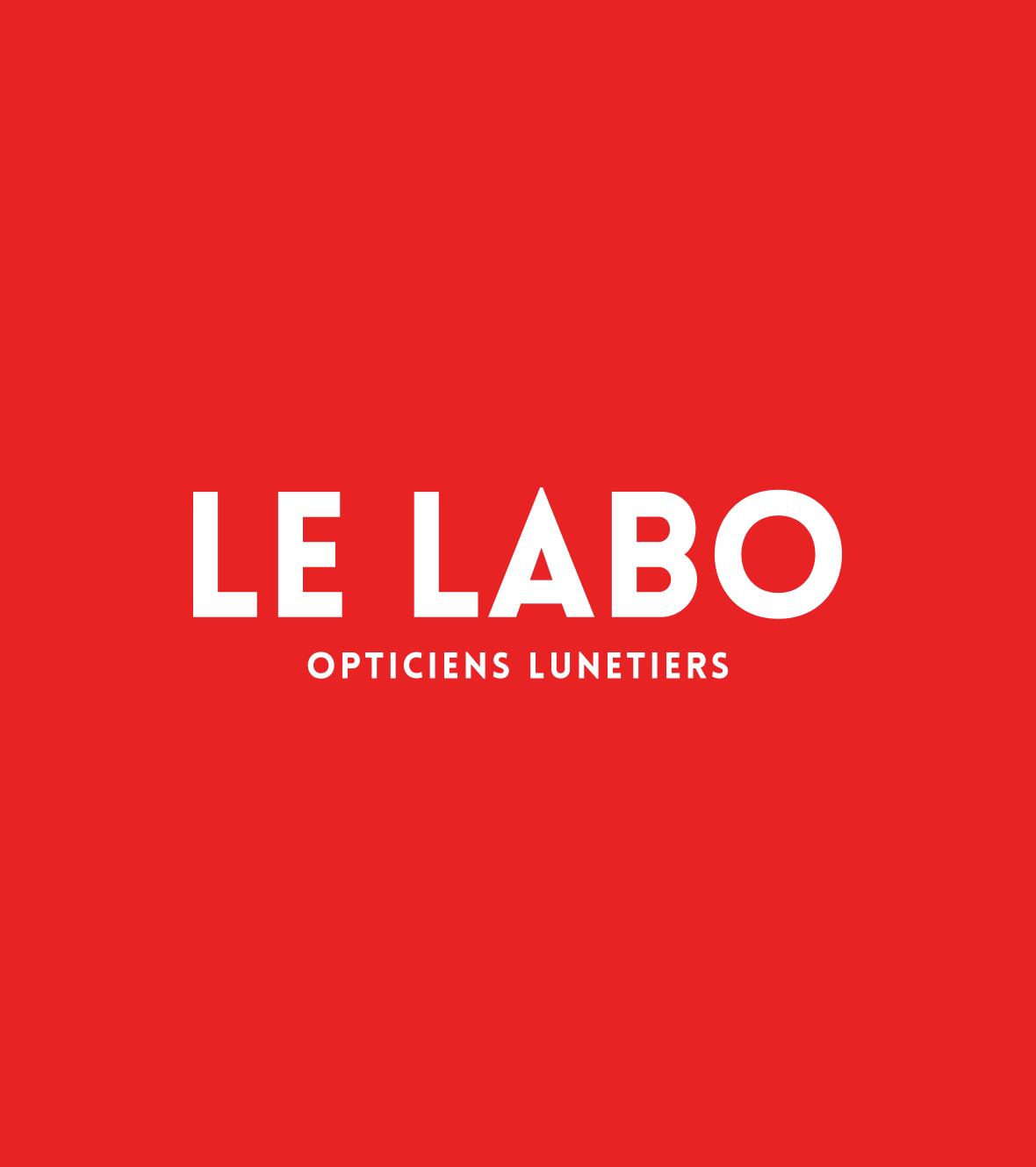 logo opticien lunetier Le Labo à Fontainebleau