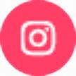 icone instagram rose