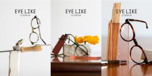 Trois images pour présenter les trois modèles phares de la collection Eye-Like